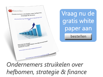Ondernemers struikelen over hefbomen, strategie en finance