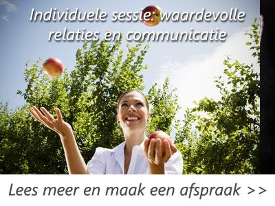 Individuele sessie communicatie.